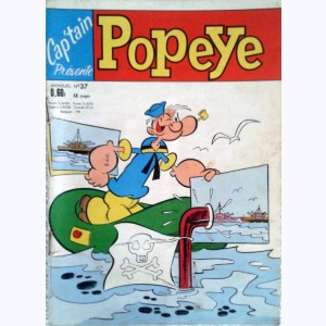 Cap'tain Popeye : n° 37, Fausse folie furieuse