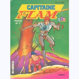 Capitaine Flam : n° 7, Le super-robot
