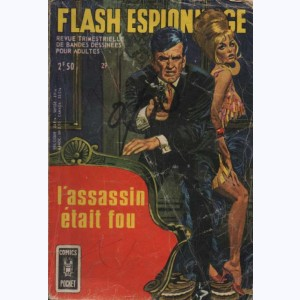 Flash Espionnage : n° 29, L'assassin était fou
