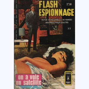 Flash Espionnage : n° 32, On a volé un satellite