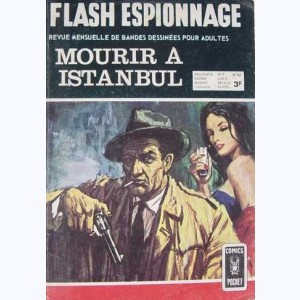 Flash Espionnage : n° 42, Mark Danger : Mourir à Istambul