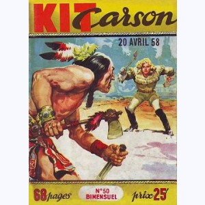 Kit Carson : n° 50, Les indiens disparus