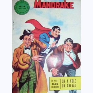 Mandrake : n° 74, On a volé un cheval