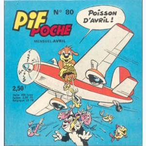 Pif Poche : n° 80, Poisson d'Avril : Spécial aviation