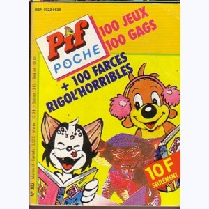 Pif Poche : n° 302, 100 farces rigol'horribles