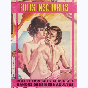 Collection Sexy Flash : n° 3, Filles insatiables