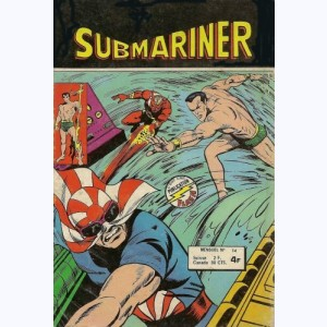 Submariner : n° 14, Le samouraï atomique