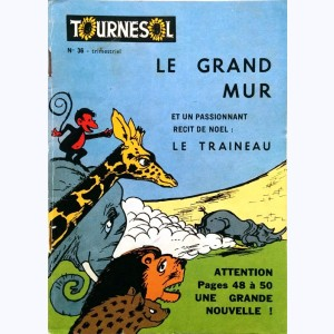 Tournesol : n° 36, Le grand mur