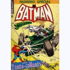 Batman et Superman Géant : n° 6, Le grand secret de Superman !