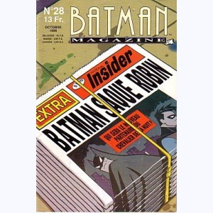Batman Magazine : n° 28, Batman saque Robin