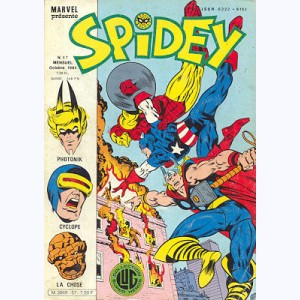 Spidey : n° 57, Les Mutants X-Men : Le sub-humain !