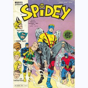 Spidey : n° 58, Les Mutants X-Men : La mort du professeur X