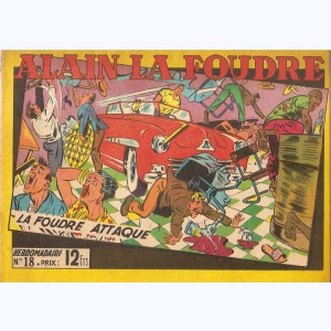Collection Alain la Foudre : n° 18, La foudre attaque