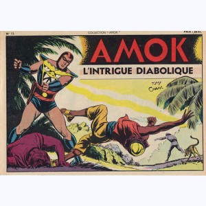 Collection Amok : n° 12, L'intrigue diabolique