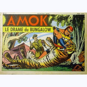 Collection Amok : n° 13, Le drame du bungalow