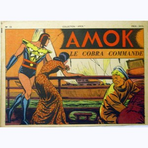 Collection Amok : n° 22, Le Cobra commande