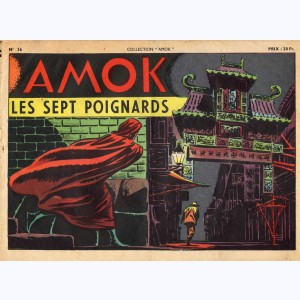 Collection Amok : n° 26, Les sept poignards