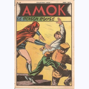 Collection Amok : n° 27, Le dragon rouge