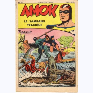Collection Amok : n° 29, Le sampang tragique