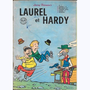 Laurel et Hardy (2ème Série) : n° 7, Au Far-West