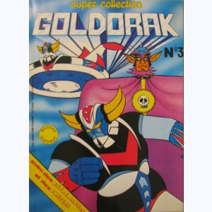 Le Journal de Goldorak (Album) : n° 3, Recueil Super collection n° 3 (11, 12, 14)