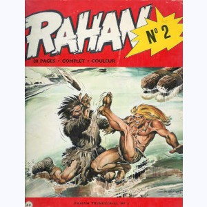Rahan : n° 2, Les temps sauvages