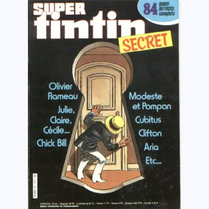 Super Tintin : n° 37, Secret : Olivier Rameau