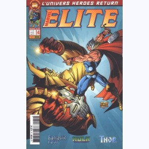 Marvel Elite : n° 14, De chair et de pierre