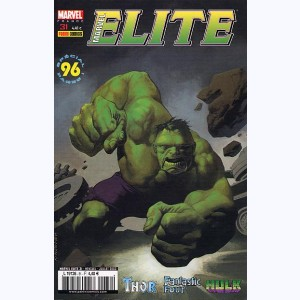 Marvel Elite : n° 31, Hulk écrase !