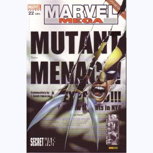 Marvel Méga : n° 22, Secret war 3