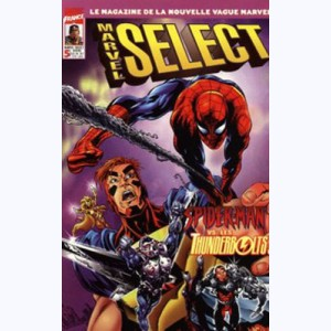 Marvel Select : n° 5, Spider-Man vs les Thunderbolts