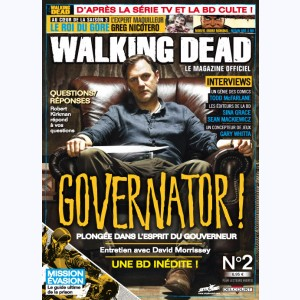 Walking Dead magazine : n° 2A, Governator !