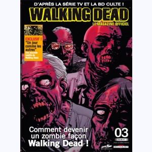 Walking Dead magazine : n° 3B
