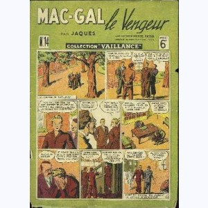 Collection Vaillance : n° 14, Mac-Gal le vengeur