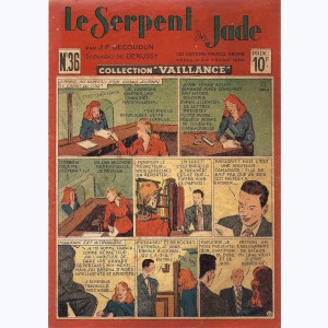 Collection Vaillance : n° 36, Le serpent de jade