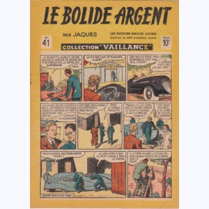 Collection Vaillance : n° 41, Le bolide d'argent