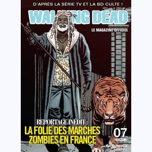 Walking Dead magazine : n° 7B, La folie des marches zombies en France