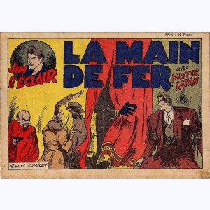 Collection E.L.A.N. : n° 2, Jim L'Eclair - La main de fer (Mister Satan)