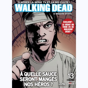 Walking Dead magazine : n° 13B