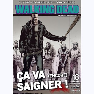 Walking Dead magazine : n° 18B